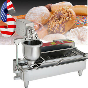 Automatic Commercial Donut Fryer Maker Making Machine Donut Robot 850 1000pc h A