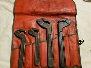 Blue Point 4 Pc Adjustable Pin Spanner Wrench Set 304apsk