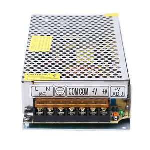 Ac 110v 220v To Dc 12v 15a 180w Switch Power Supply Driver Adapter For Led Strip
