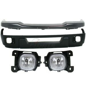 2004 2005 Ford Ranger Front 4 Pcs Kit Includes Bumper Fog Lamp Assembly Valance