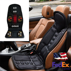 Massage Vibration Cushion Adjustable Seat Heating For Home Car Auto Us Shipment