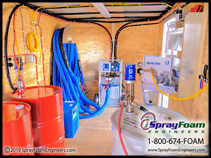 Graco A25 Spray Foam Trailer Package New Contractor Ready Spray Foam Machine
