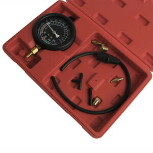 Fuel Pump Vacuum Testers Gauge Leak Carburetor Pressure Diagnostics W Case