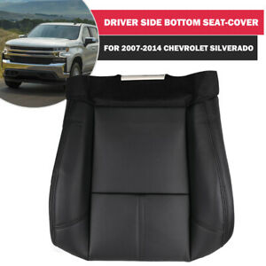 Driver Bottom Leather Seat Cover For Chevy Silverado 1500 Avalanche 2007 2013
