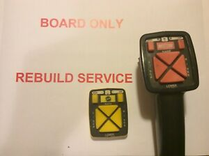 Actual Rebuild For Mode Board Western Mvp Fisher Ez v 10 Pin Plow Controller