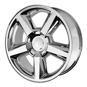 Chevrolet Silverado Ltz Style Wheel 20x8 5 31 Chrome 6x139 7 6x5 5 Qty 4