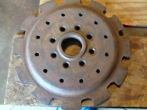 Ford Tractor Rear Wheel Weight Pie Starter Disc Disk Center Ballast
