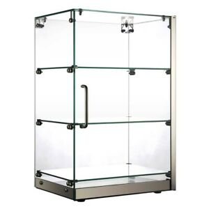 Marchia Sa60 16 Vertical Countertop Dry Straight Glass Display Case