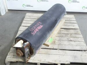 Used Unbranded Rubber Covered 47 Conveyor Roller 10 1 2 Diameter