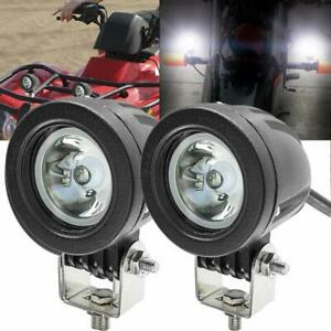 Motorcycle Driving Lights Ourbest 2inch Round Cree 20w Led Spot Offroad Motor