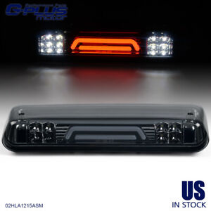 For 2004 2008 Ford F150 3d Led Bar Third 3rd Tail Brake Light Cargo Lamp Smoke