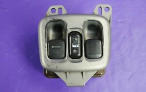 00 05 Toyota Celica Power Window Master Switch Driver Left Pewter Bezel