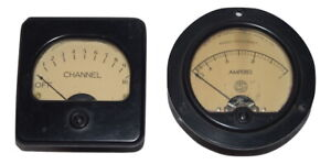 Simpson 35 s Radio Frequency Amperes Weston Electrical 301 Channel Panel Meter