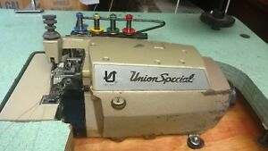 Union Special 39500 qw Overlock Serger 2 needle 4 thread Chain Cutter