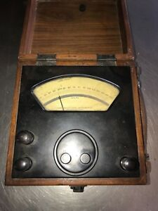 Vintage Rawson Electrical Instrument Meter Type 501 2645