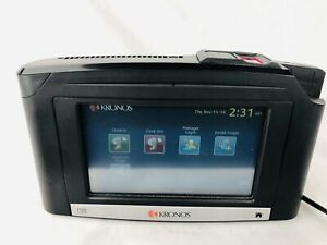 Kronos Intouch 9000 Time Clock With Fingerprint Scanner Free Shipping