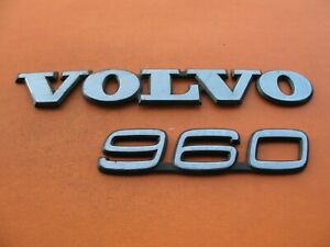 94 95 96 97 98 Volvo 960 Rear Trunk Gate Lid Emblem Logo Badge Sign Symbol Set 4