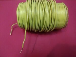 Thhn Yelow Solid Copper Wire 10 Awg 125 Ft