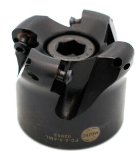 Mil tec 2 5 Diameter Freedom Cutter Plus Indexable Shell Mill Usa 02002