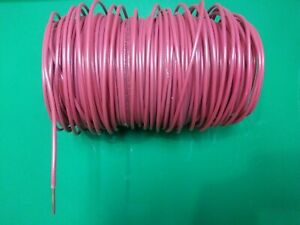 Thhn Red Solid Copper Wire 10 Awg 125 Ft