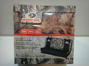 Mossy Oak Break Up Country Hunting Camo Full Size Bench Seat Covers Van Trucks