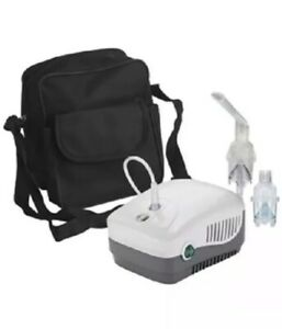 Nebulizer Machine Compressor System W Carry Bag Medneb Brand New Free Ship