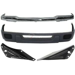 2004 2005 Ford Ranger Front 4 Pcs Kit Includes Bumper Face Bar