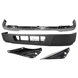 2004 2005 Ford Ranger Front 4 Pcs Kit Includes Bumper Face Bar Valance Panel