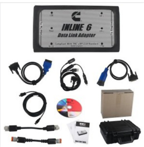 Inline 6 Data Link Adapter For Cummins Rp1210 Heavy Duty Diagnostic Dhl Q05 Zx