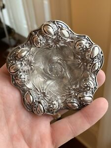 Rare Art Nouveau Sterling Silver Nut Bowl Kerr 1 Of 7 Perfect