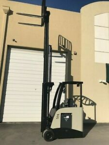 2011 Crown Electric Forklift Teste Battery Side Shift Tilt 3 000 Lb Capacity