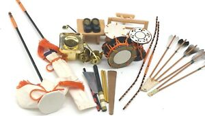 Lot Of 20 Vintage Accessories Accessory For Japanese Hina Dolls