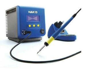 Set Of Two Hakko Fx100 04 Brand New Induction Esd Soldering Station Without Tip