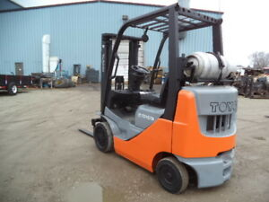 2009 Toyota Model 8fgcu20 4 000 4000 Cushion Tired Forklift 118 Lift