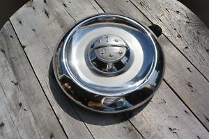 1956 Olds Dog Dish Hubcap