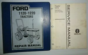 Ford 1120 1220 1215 Tractor Service Repair Shop Workshop Manual Original