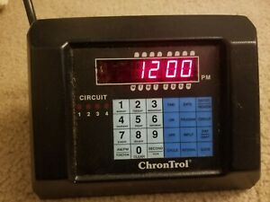 Chrontrol Cd 4 Table Top Programmable Timer Controller 4 Outlets