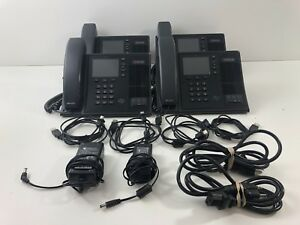Lot Of 4 genuine Polycom Cx600 Usb Voip Phone With Usb Handsets