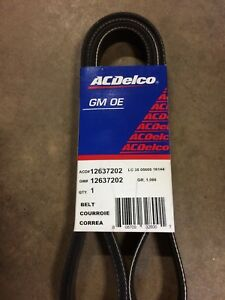 Ac Delco Serpentine Belt New Chevy Olds Avalanche Express Van 12637202