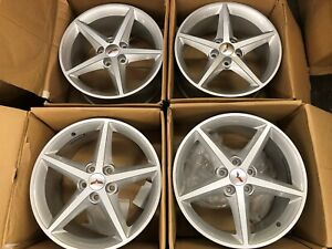 Original Oem 2011 2012 2013 Factory Corvette Wheels Painted Silver Qg6