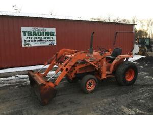1992 Kubota L2250 4x4 Compact Tractor W Loader Coming Soon