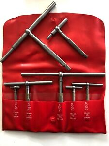 Starrett Set Of 5 Telescoping Gages No S229g Plus 2 Xtra Gages Wcase