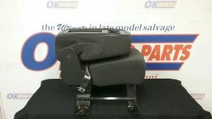 07 Chevy Yukon Suburban Tahoe Front Center Console Jump Seat Black Cloth Ae7 Opt
