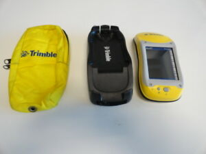 Trimble Geoxt 50950 20 Geoexplorer Pocket Pc Gps W Docking Station