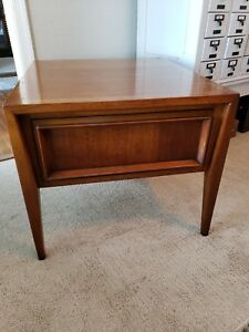 Mid Century Modern Nightstand Side End Table Century Furniture Co Vintage Danish