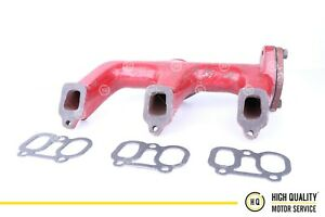 Lister Petter Exhaust Manifold With Gasket 203 81251 For St3 3 Cylinder