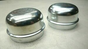 65 66 67 68 Ford Truck F100 Front Drum Brake Hub Grease Cap X2 New