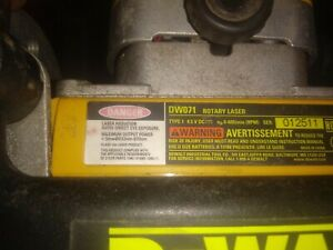 Dewalt Dw071 Rotary Lazer Leveler With Or Without Cash