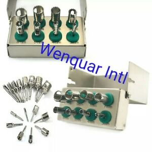 Dental Implant Drills Kit Trephines Expander Trimmer Bone Grafting Surgery