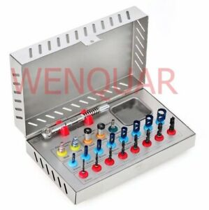 Basic Dental Implant Kit Surgical Drills Torque Wrench Trephine Hex Drivers